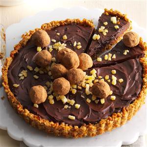 Chai Truffle Tart Recipe