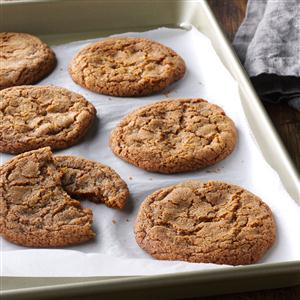 Spiced Toffee Cookies Recipe