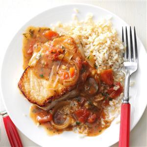 Saucy Pork Chop Skillet Recipe