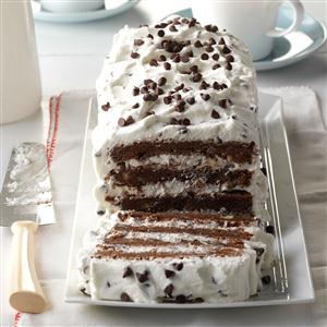 Brownie Torte Recipe