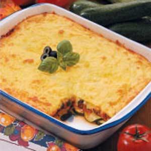 Classic Cheesy Zucchini Bake Recipe