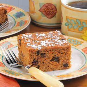 Raisin Carrot Cake Recipe