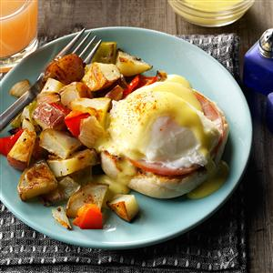 Eggs Benedict with Homemade Hollandaise Recipe