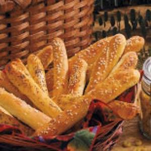 Soft Onion Breadsticks Recipe