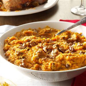 Rum-Raisin Sweet Potatoes Recipe