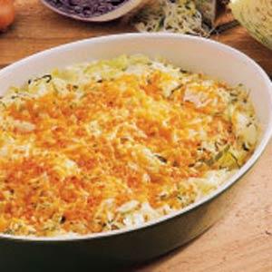 Cheddar Cabbage Casserole Recipe