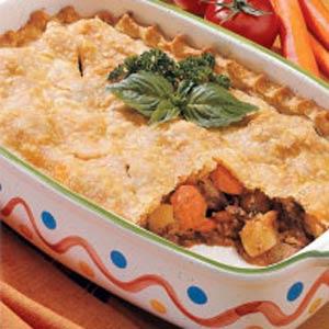 Beef Stew Pie Recipe