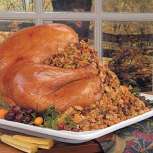Turkey with Chestnut Stuffing