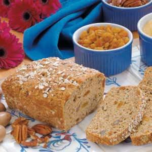 Golden Oatmeal Bread Recipe