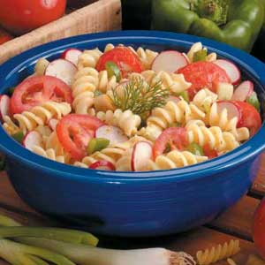 Tangy Vegetable Pasta Salad Recipe