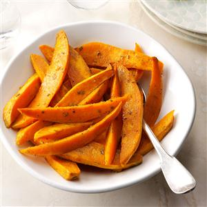 Roasted Sweet Potatoes with Dijon & Rosemary Recipe