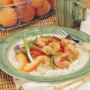Apricot-Glazed Shrimp Recipe