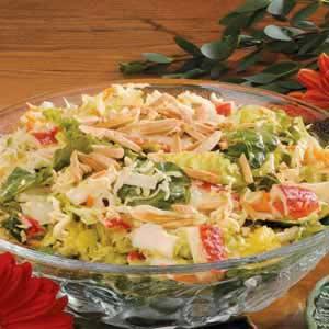 Crab Coleslaw Medley Recipe