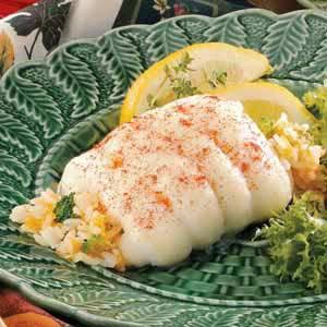 Broccoli-Stuffed Sole Recipe