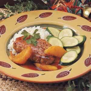 Sweet 'N' Sour Pork Chops Recipe