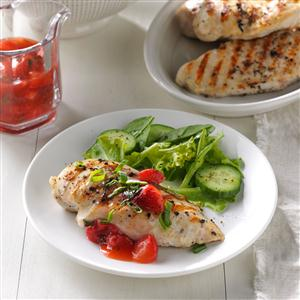 Strawberry Mint Chicken Recipe