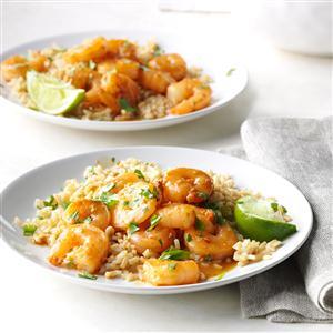 Sesame Cilantro Shrimp Recipe