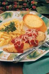 Lighter Chicken Parmigiana Recipe