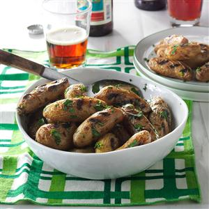 Fingerling Potatoes with Fresh Parsley and Chives Recipe