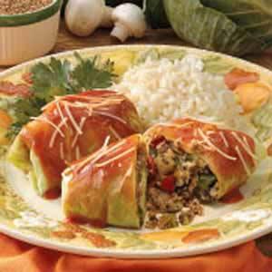Vegetarian Cabbage Rolls Recipe
