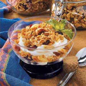 Cherry Almond Granola Recipe