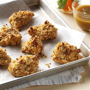 Pretzel-Coated Chicken Nuggets Recipe