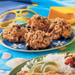 Butterscotch Cereal Bites Recipe