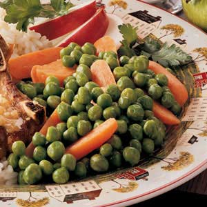 Buttery Peas and Carrots Recipe