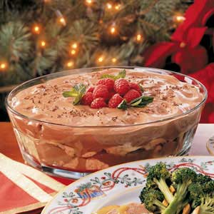 Holiday Cappuccino Trifle Recipe