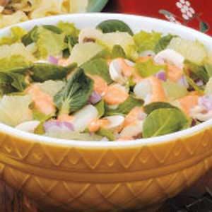 Greens 'n' Grapefruit Salad Recipe