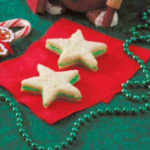 Star Sandwich Cookies Recipe