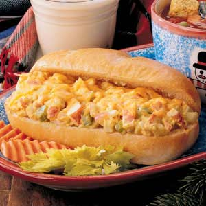 Curry Crab Sandwiches Recipe