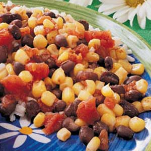 Zesty Corn and Beans Recipe