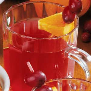 Cranberry Brunch Punch Recipe