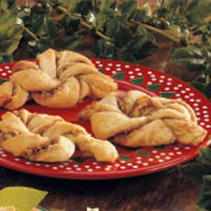 Cinnamon Nut Twists Recipe