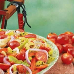 Colorful Grilled Veggies Recipe