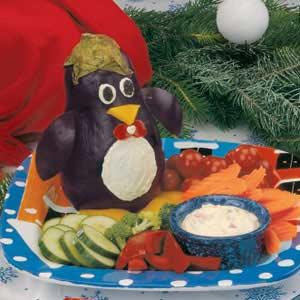Penguin Veggie Platter Recipe
