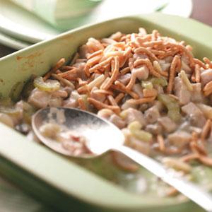 Crunchy Turkey Casserole Recipe