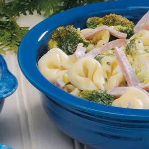 Hot Tortellini Salad Recipe