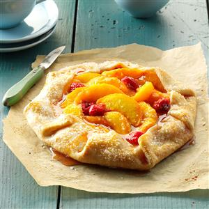 Raspberry Peach Tart Recipe