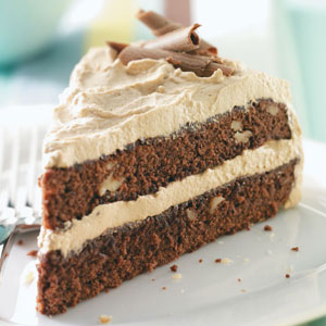 Maple-Mocha Brownie Torte Recipe