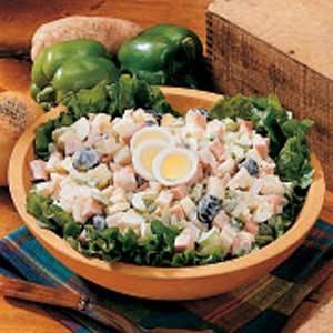 Ham 'n' Spuds Salad Recipe