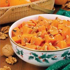 Orange-Nut Sweet Potatoes Recipe