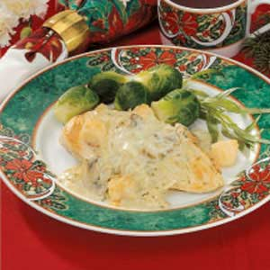 Special Scallops and Chicken Recipe
