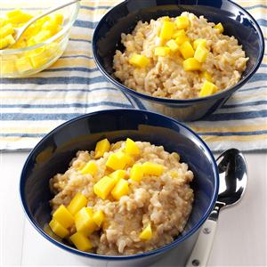 Mango Rice Pudding Recipe