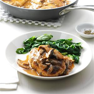Turkey Salisbury Steaks Recipe