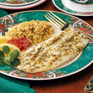 Fish Fillets with Citrus-Herb Butter