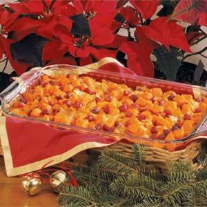Sweet Potato and Cranberry Bake Recipe
