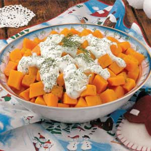 Snowcapped Butternut Squash Recipe