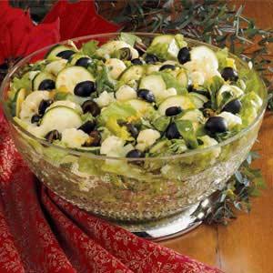 Cauliflower Zucchini Toss Recipe